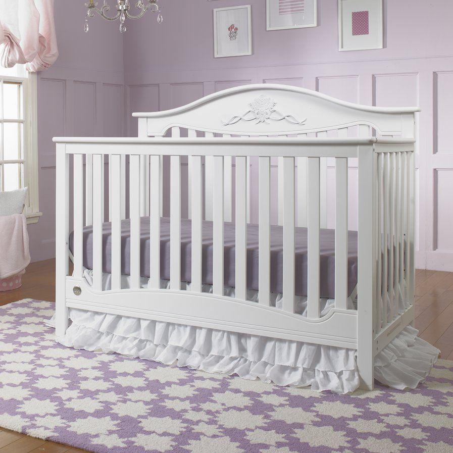 Mia 4-in-1 Convertible Crib | Baby Nursery | Pinterest