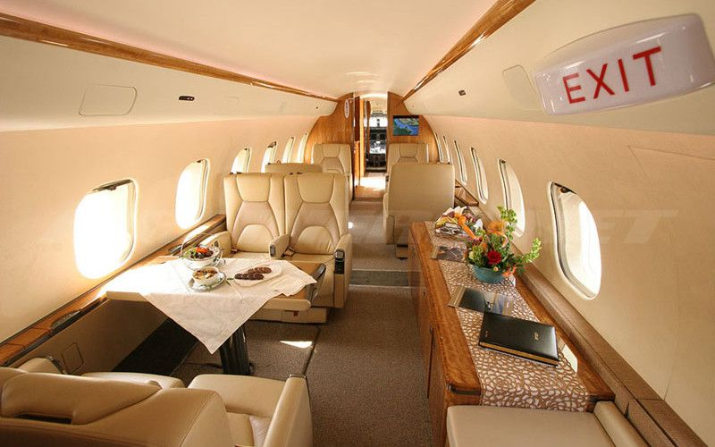 How much does it cost to fly in a Global Express private
