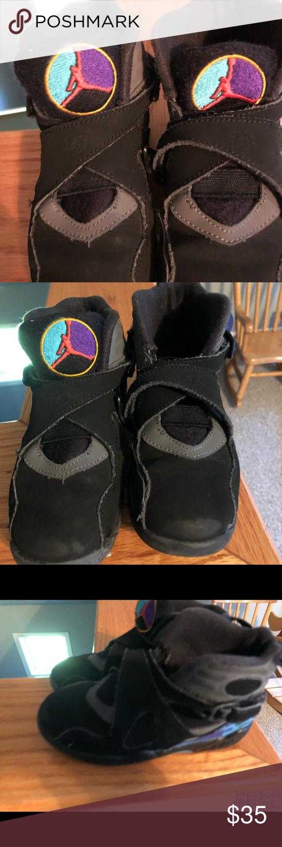 a3b31da409 Jordan 8. Size 11 little kids. Euc. nike air jordan Shoes Sneakers ...