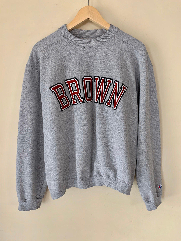 Vintage 90s Brown University Champion Brand Collegiate Etsy Champion Brand Sweatshirts Brown University [ 3000 x 2250 Pixel ]