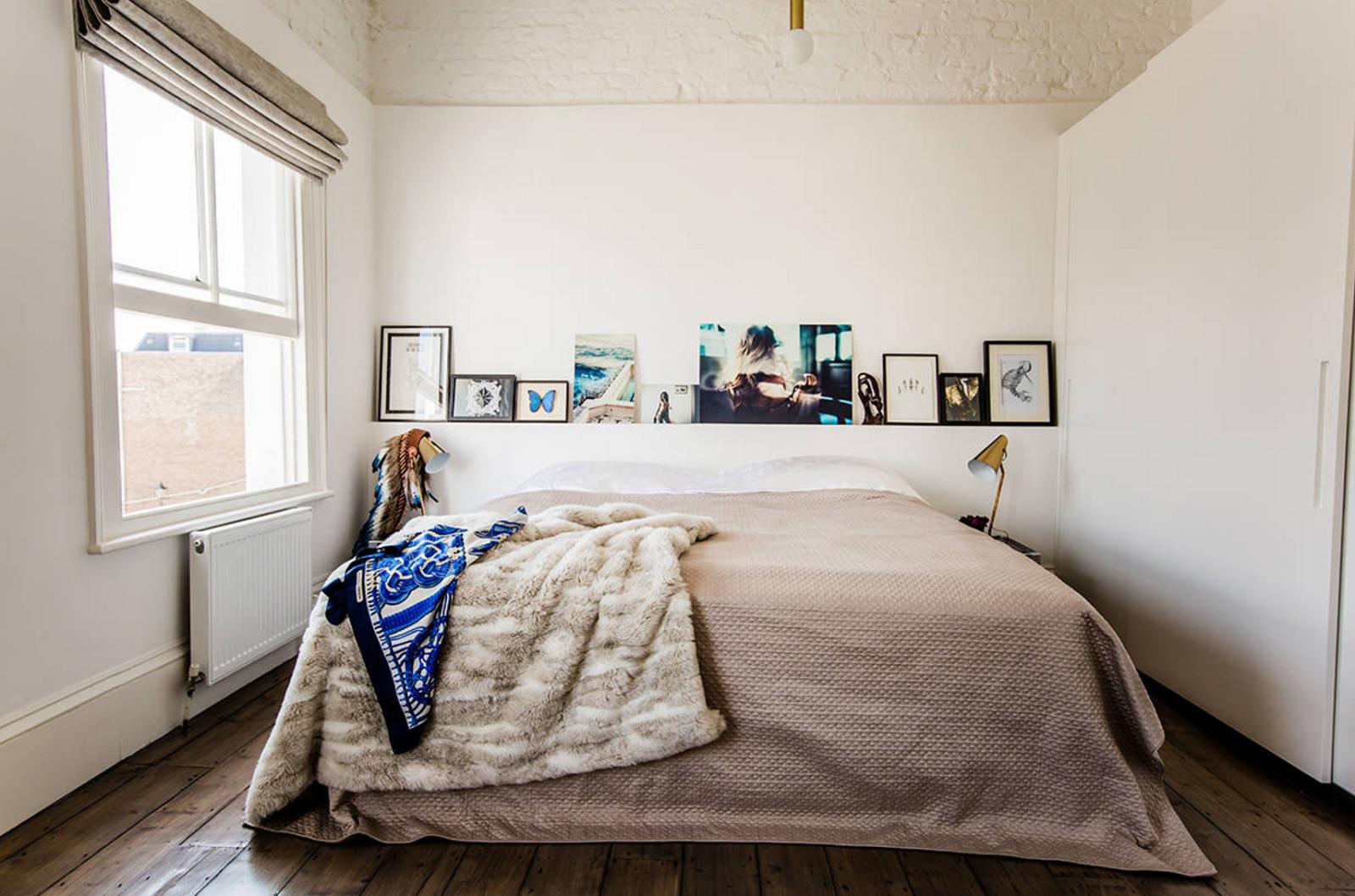 Desain Kamar Tidur Sempit Minimalis Sederhana Small Bedroom
