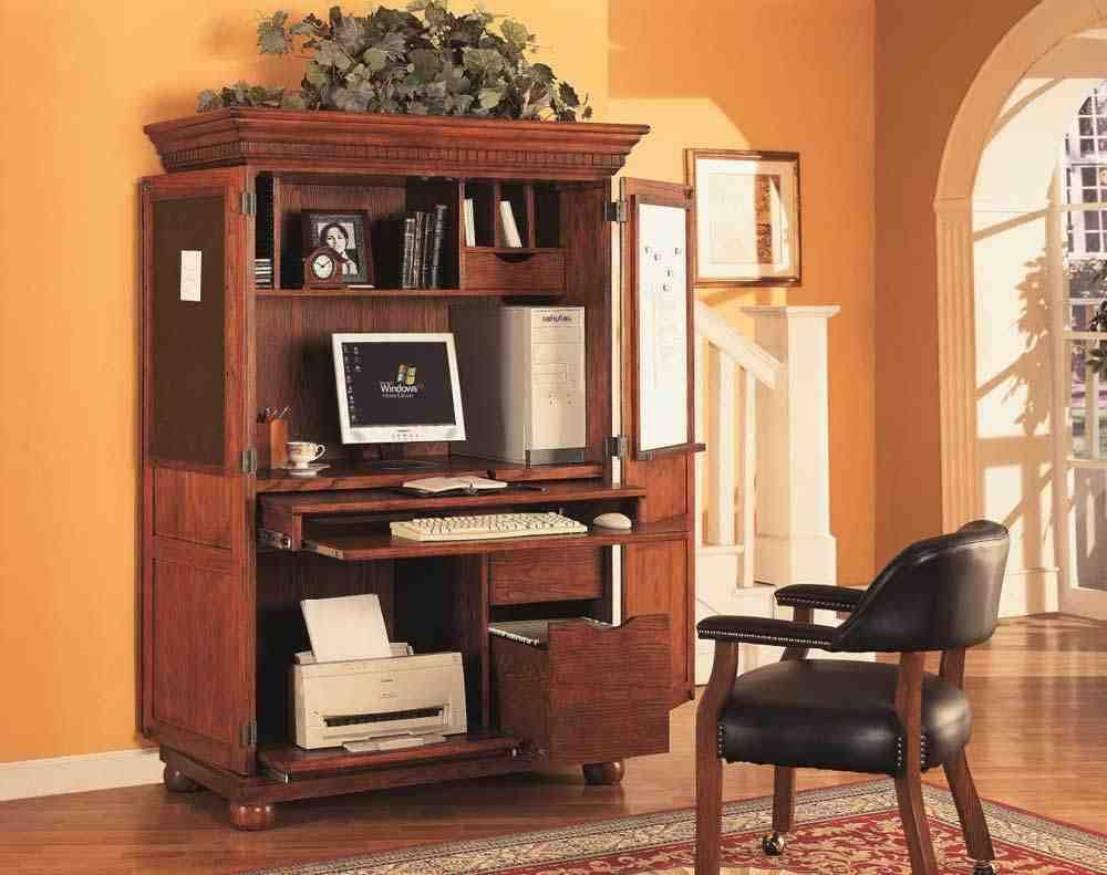 Armoire Desk Furniture Office