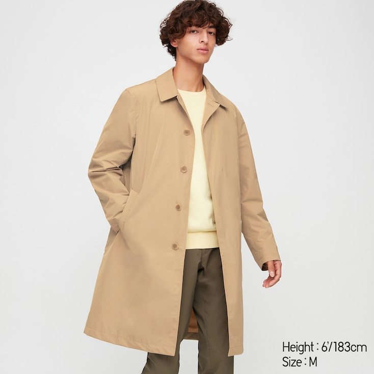 Men Two Way Single Breasted Coat