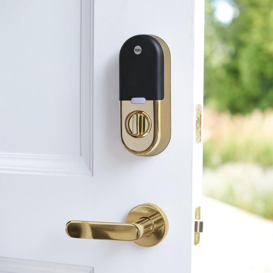 Key Free Smart Deadbolt Google Store In 2020 Yale Locks Smart Deadbolt Smart Lock