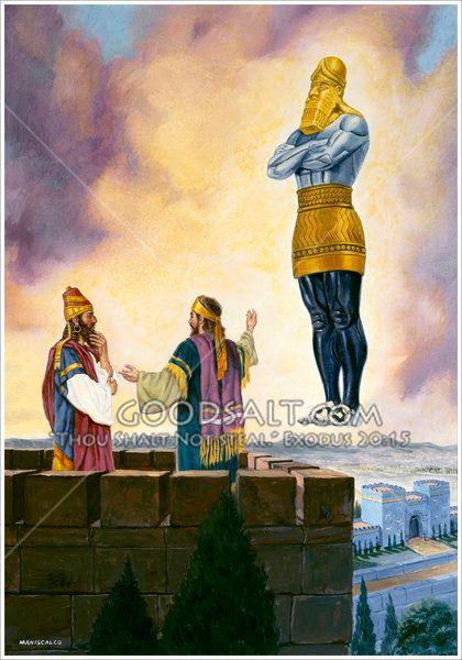 Daniel Interprets Dream For King Nebuchadnezzar Daniel 2