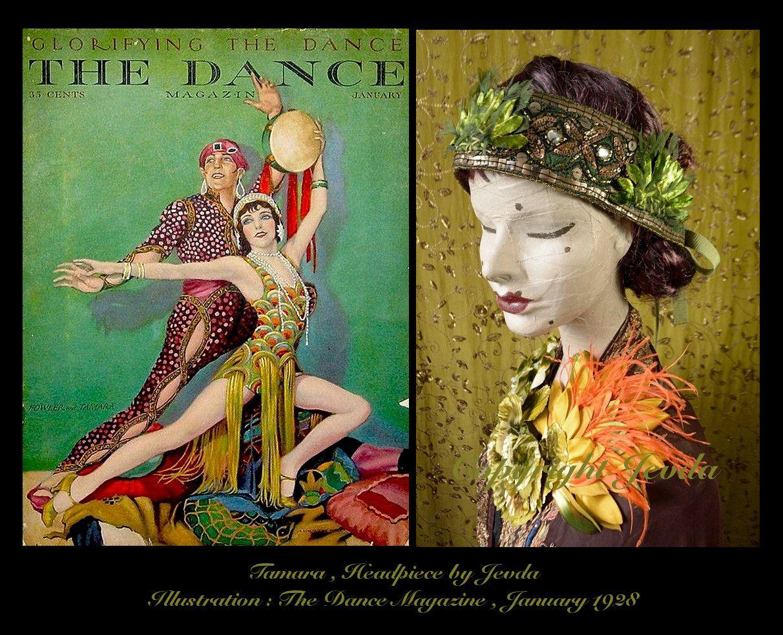 1920s Headpiece,Burlesque Headpiece,Flapper Inspiration,Flapper Girl,Les Garçonnes,Jazz Age,Flapper Headpiece,Flapper Headband by Jevda on Etsy