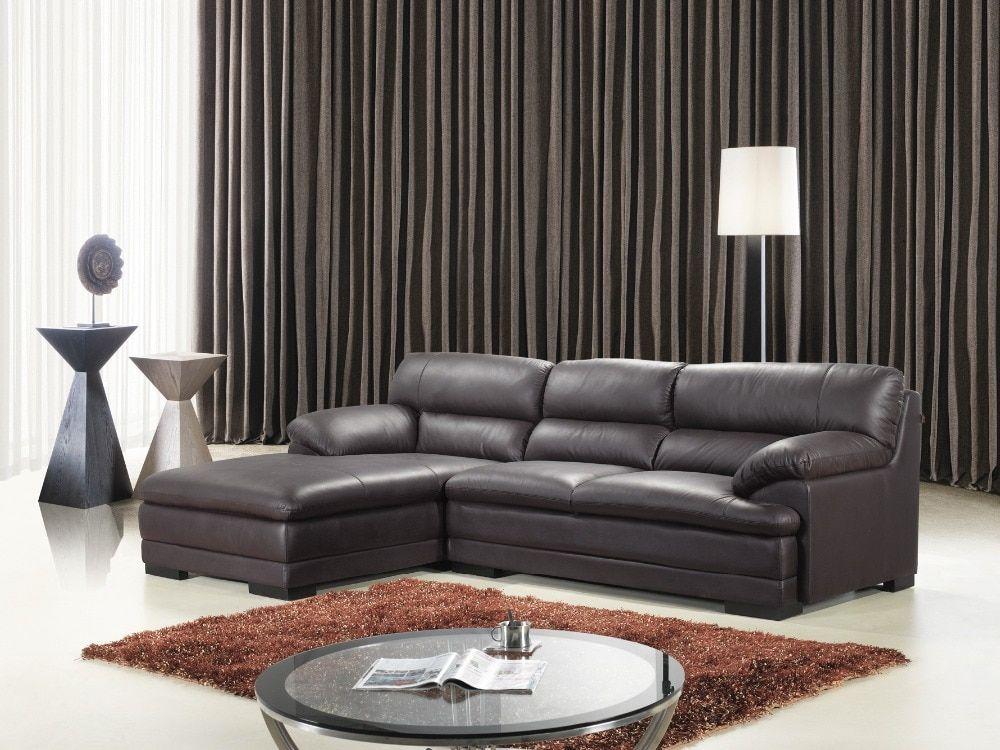 Morden Sofa Leather Corner Sofa Living Room Sofa Furniture Corner Sofa Factory Export Wholesale 6001