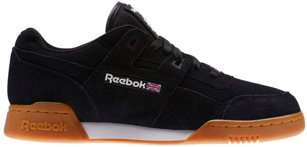 Amazon.com: Reebok Workout Plus Eg (Black/White/Gum