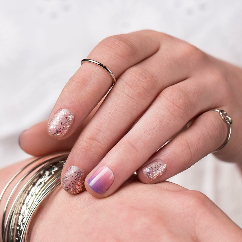 sun blaze jamberry nail wrap design