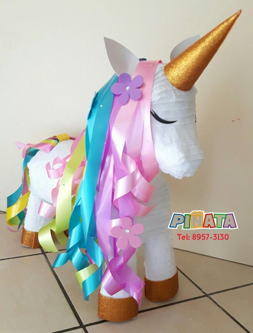 Piñata Unicornio En 2019 Piñata De Unicornio Decoracion