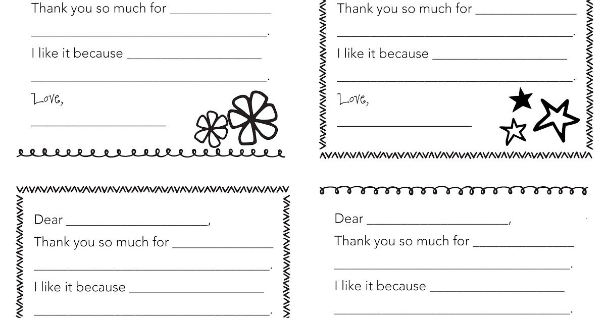 Fill-in-the-Blank Thank You Notes for Kids - Wit  Wanderjpg FREE