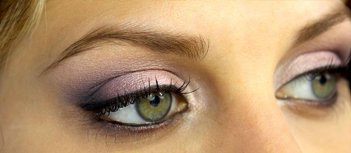 tuto maquillage yeux verts simple