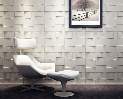 Decorative Tile Board Rubik 3D Board Wall Cladding Tiles  Interior Decorative Tile
