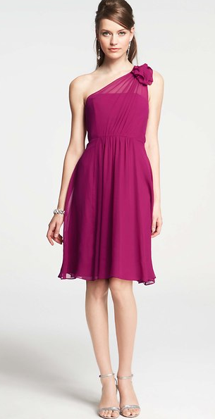 Radiant Orchid Bridesmaid Dress Ann Taylor Coloroftheyear