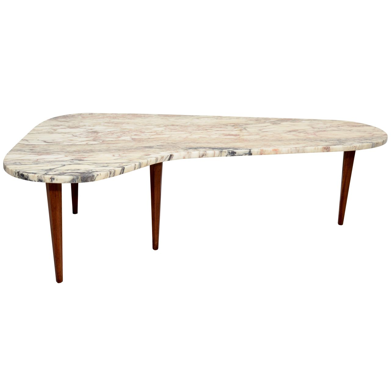 Biomorphic Marble Top Coffee Table I Love Marble