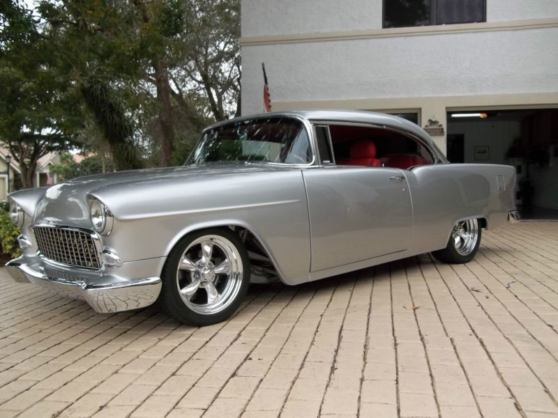 Restomods For Sale Classic Cars Trucks Hot Rods Chevrolet Bel Air 55 Chevy