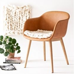 Chunky Knits are getting more popular and look so cozy! Nice DIY for chunky knit wool seat pads by lebenslustiger.
