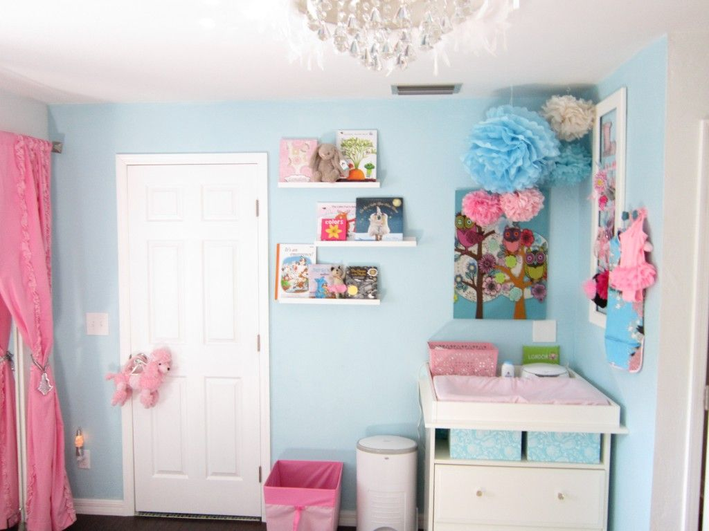 Ok I Know Said Didn T Want Any Blue In A Little S Room But This Is Adorable