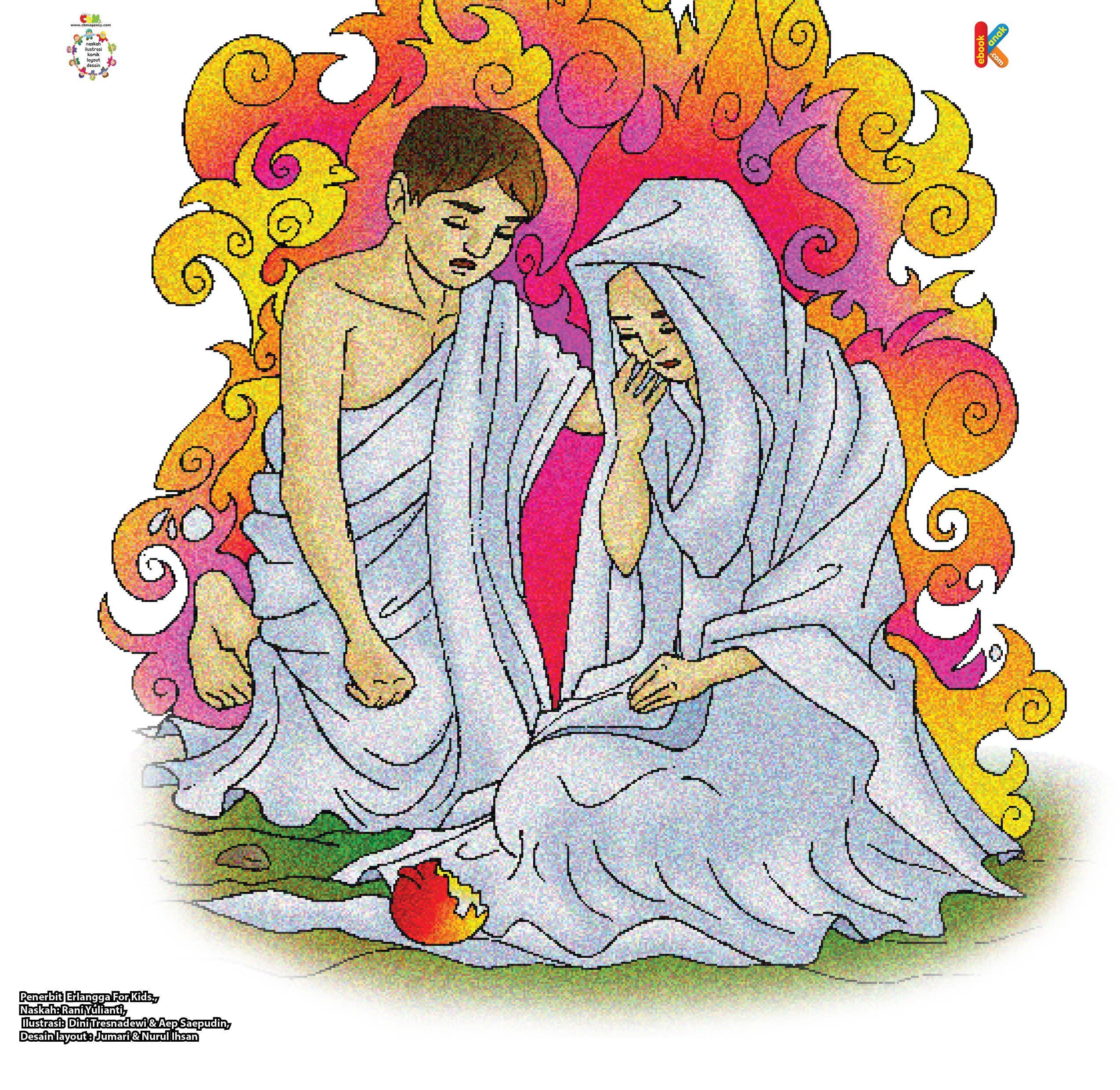 Dosa Nabi Adam Dan Hawa Di Surga Dengan Gambar Surga