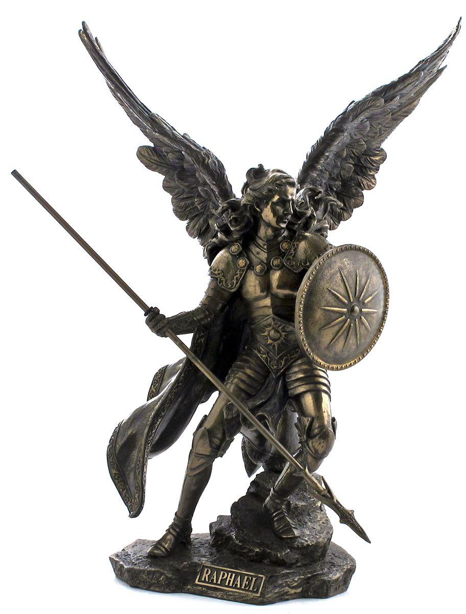 St Raphael Tattoo : raphael, tattoo, Archangel, Raphael, Arcanjo, Rafael,, Arcanjo,, Anjos