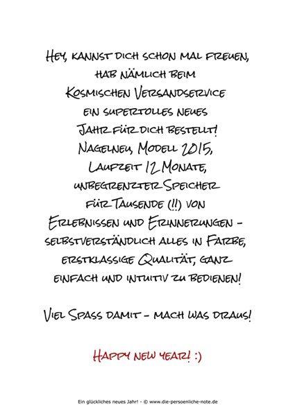 Freebie Witziger Neujahrsgruss Neujahrsgrusse Neujahr Texte Fur Weihnachtskarten