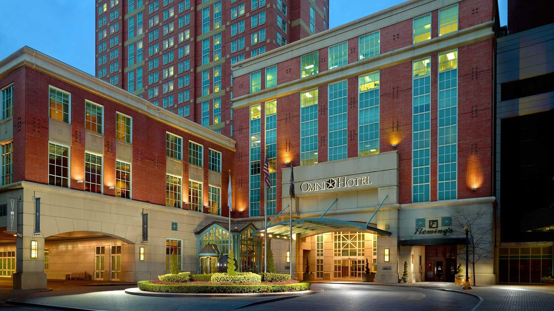 Downtown providence hotel connected to rhode island