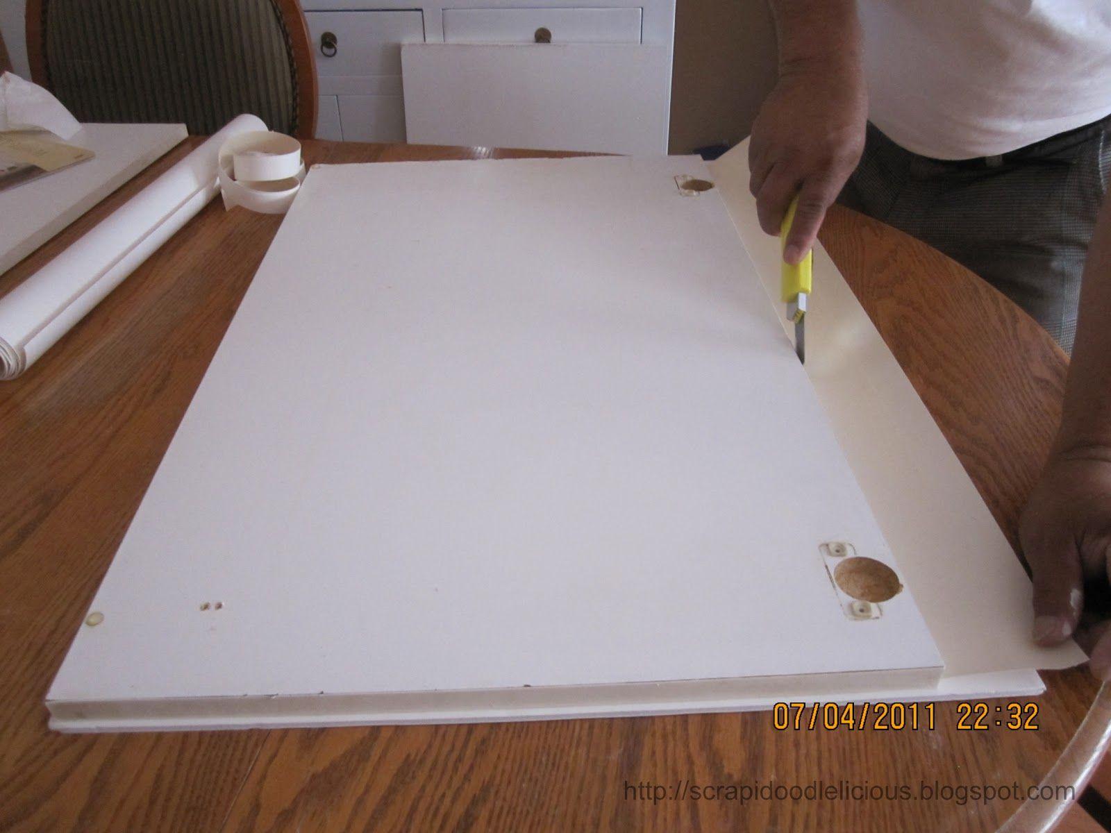 Beadboard Wallpaper in Kitchen Beadboard