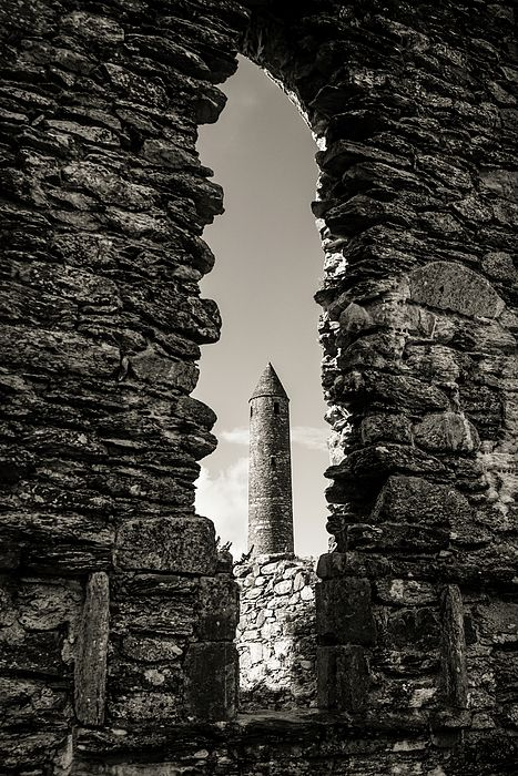 Glendalough Round Tower, Wicklow Ireland by Fergal Gleeson