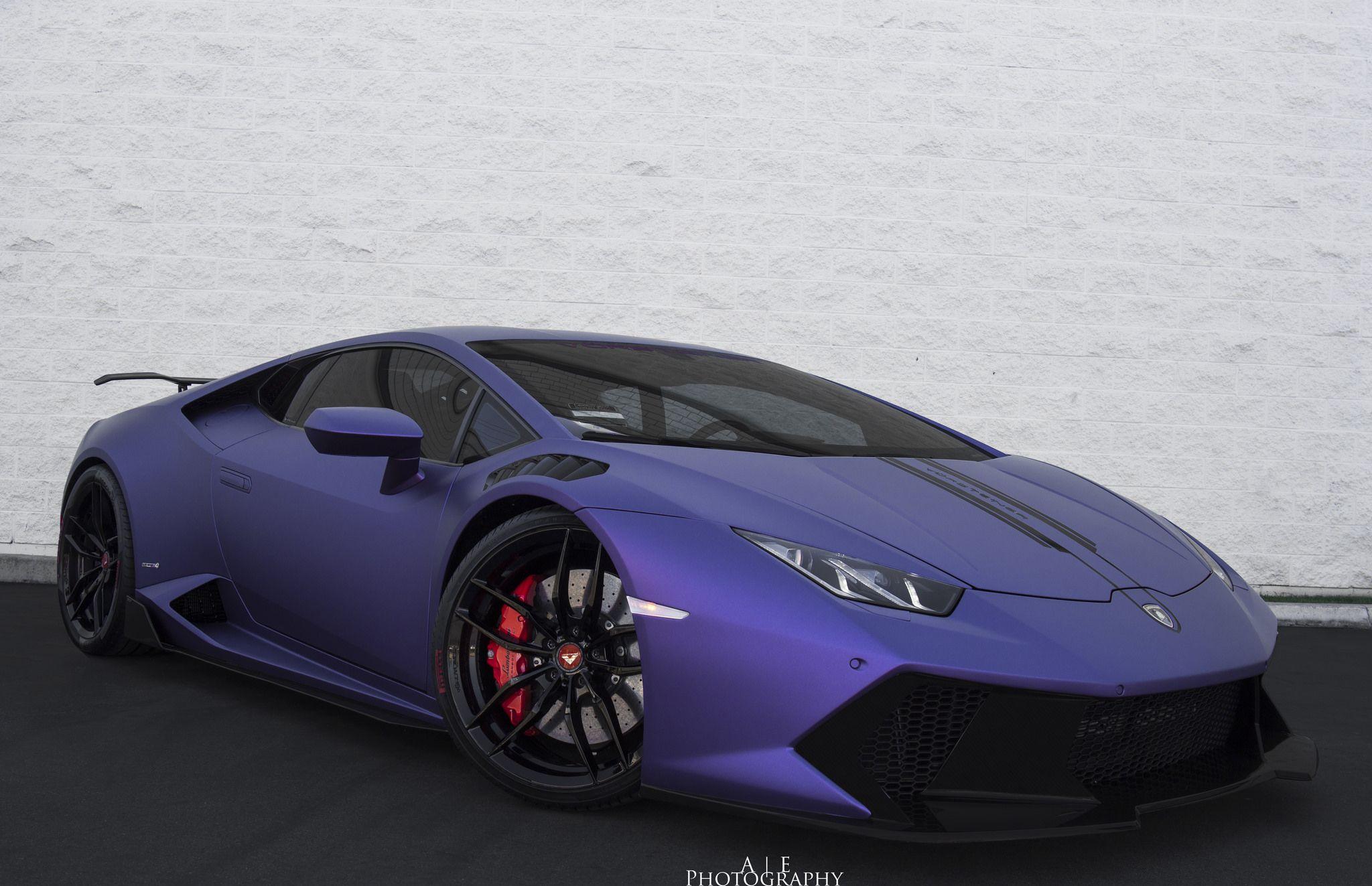 Merveilleux Purple Vorsteiner Lamborghini Huracan Novara Front Side View U2013 Nov 14, 15