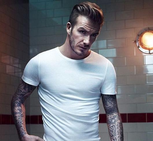 Fine David Beckham Undercut And David On Pinterest Short Hairstyles Gunalazisus