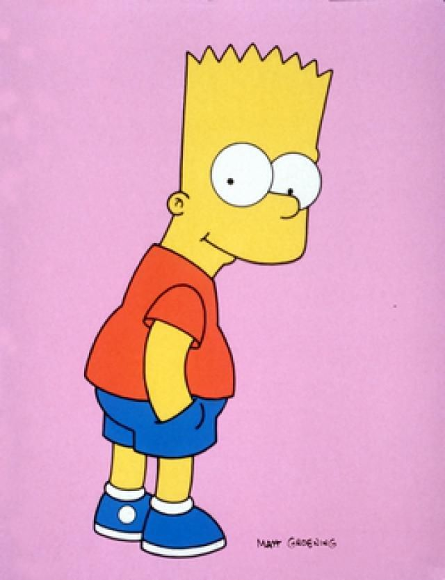 Cartoon Characters Simpsons : Of the most iconic cartoon characters all time