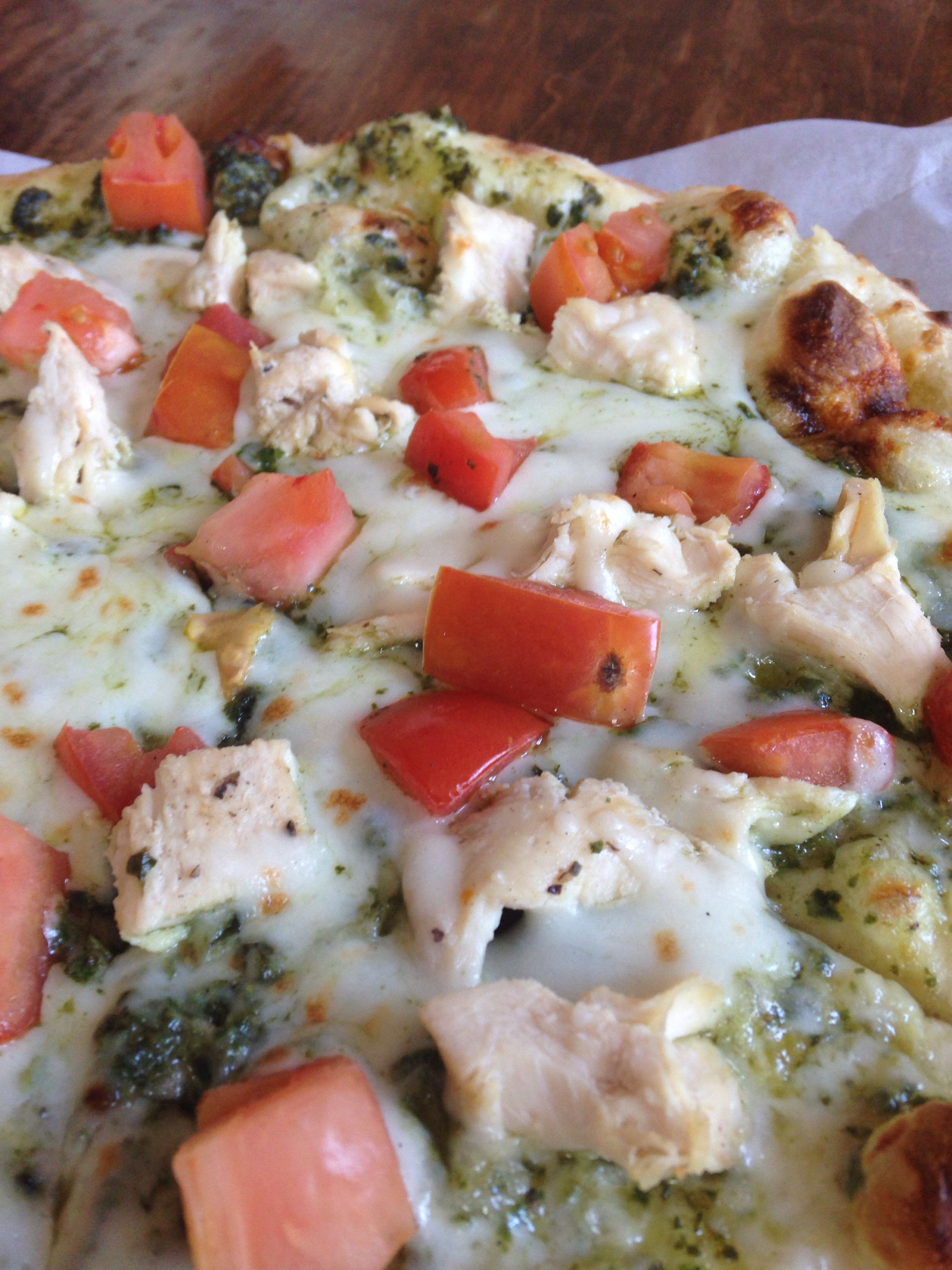 Chicken Pesto Pizza From Farmers Table In Grantham NH Whats For - Farmers table nh