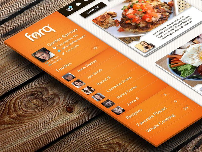 Food Network iPad App by Isaac Sanchez (San Diego, CA