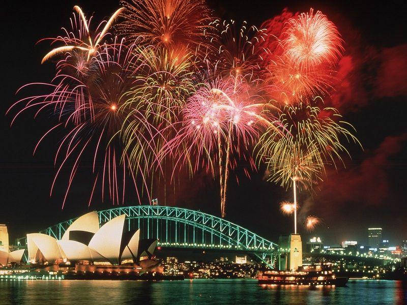 Fireworks Sydney Australia HD Wallpaper on MobDecor
