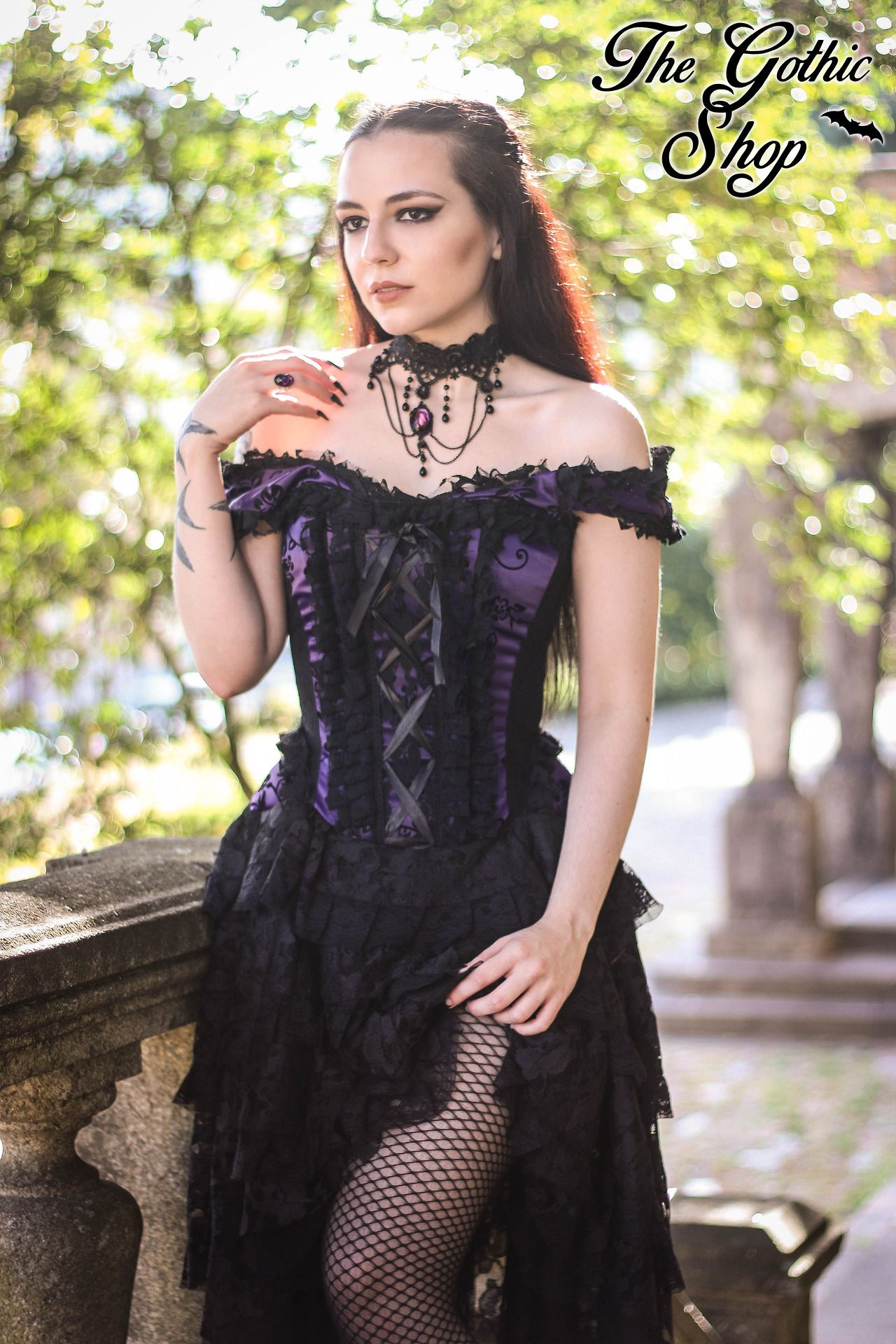 Model silky outfit the gothic shop welcome to gothic and amazing