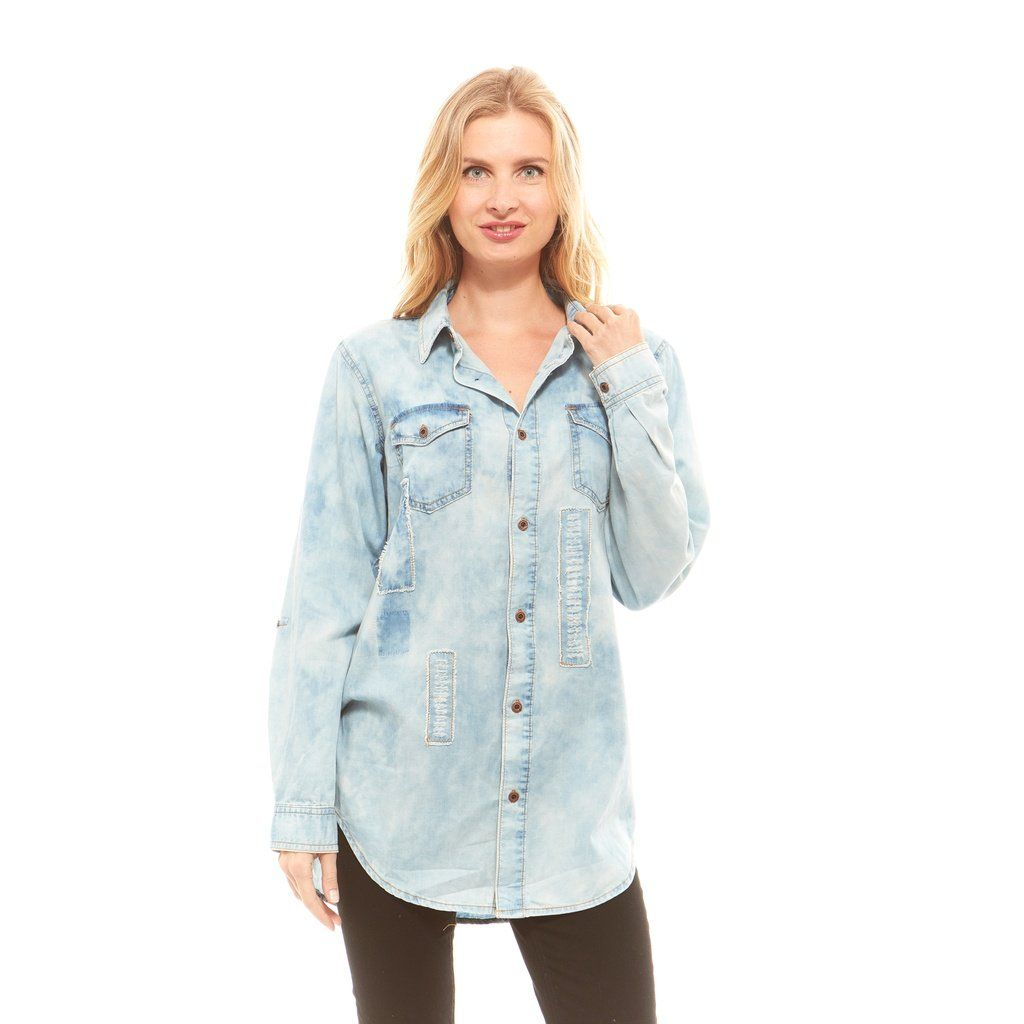 High Collared Shirts Womens Rockwall Auction