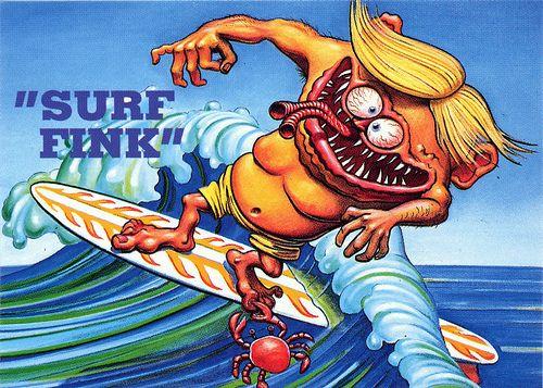 Rat Fink Ed Big Daddy Roth Surf Fink