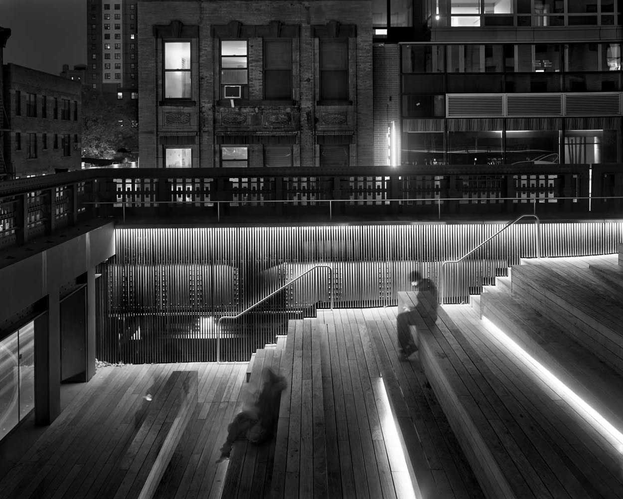 MATTHEW PILLSBURY » Sitting on the High Line, 2011
