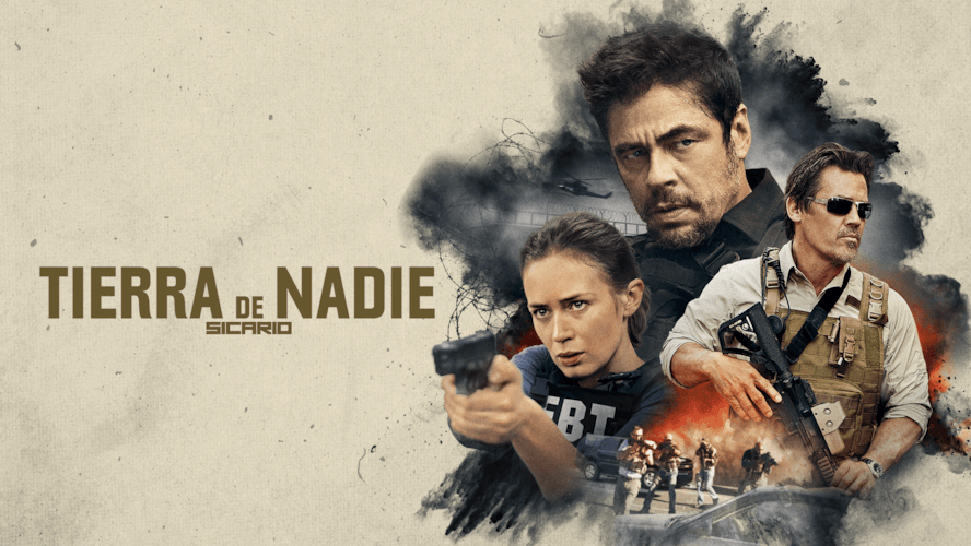 Llega En Exclusiva Para Netflix La Pelicula Sicario Tierra De Nadie Terra De Ninguem Netflix Benicio Del Toro