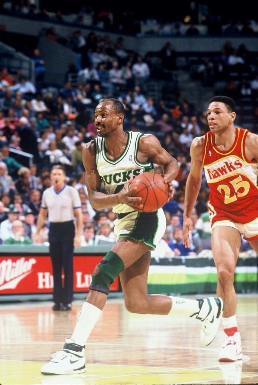 Sidney Moncrief Milwaukee Bucks Glen Doc Rivers Atlanta Haws