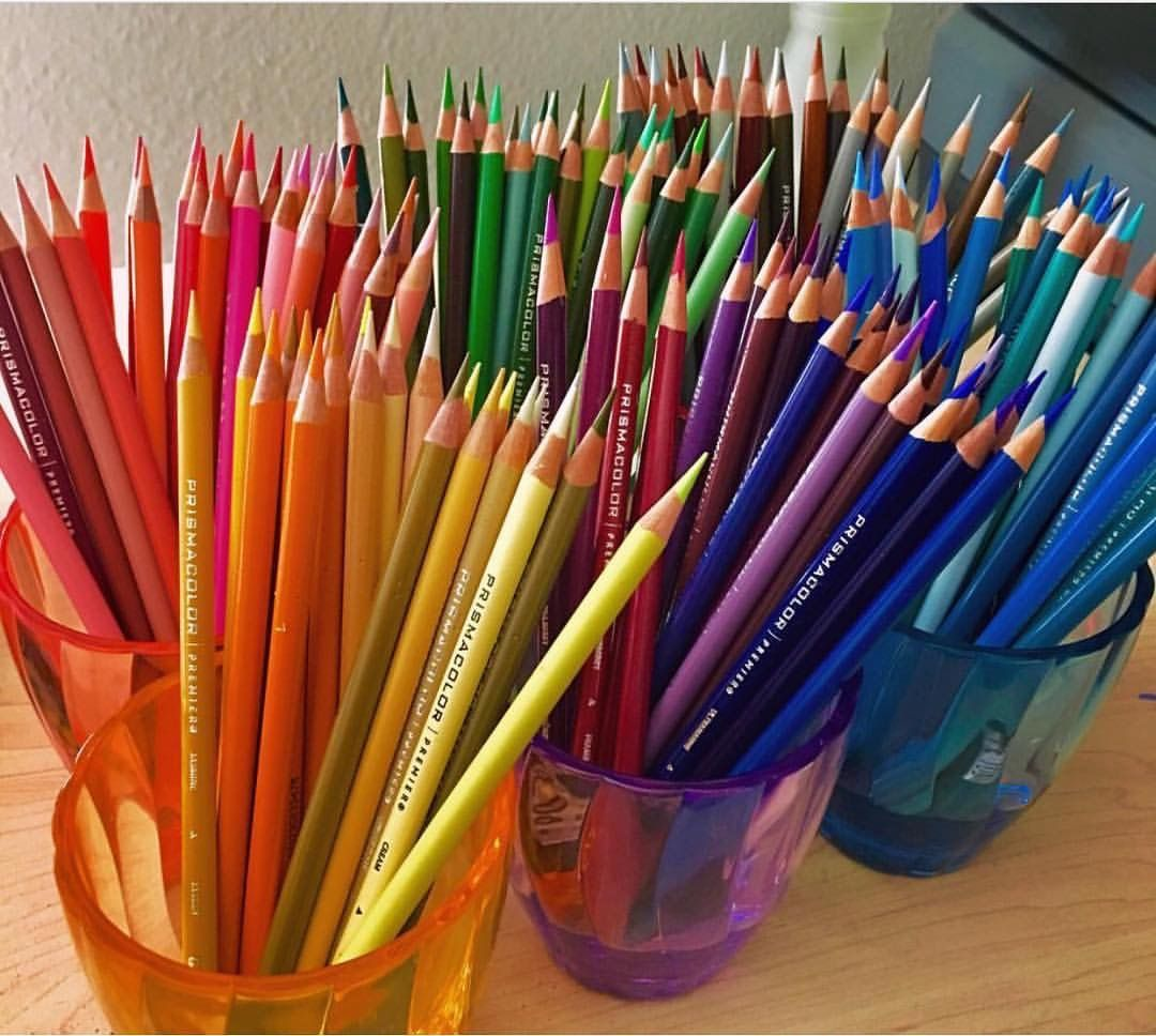 Freshly Sharpened Brand New Colored Pencils Nothing Is More Beautiful C Morgandavidson Artist Aesthetic Art Colored Pencils