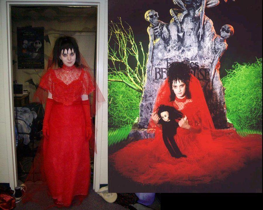 Lydia Deetz Wedding Costume by ~EmilyScissorhands on deviantART ...