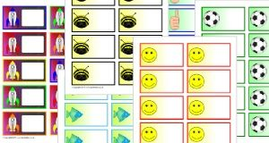 Editable Primary Teaching Resources - Flash cards, labels