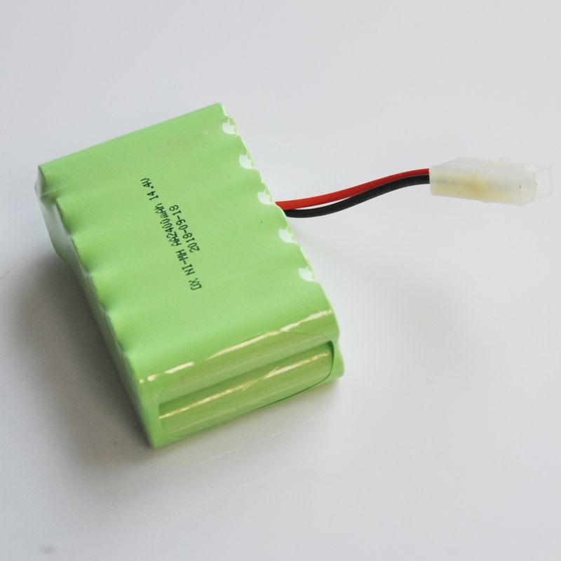 1 2pcs Ni Mh 14 4v Aa Rechargeable Battery Pack 2400mah Aa Cell For Rc Car Helicopter Toys Led Light Cordles Cordless Phone Rechargeable Batteries Battery Pack
