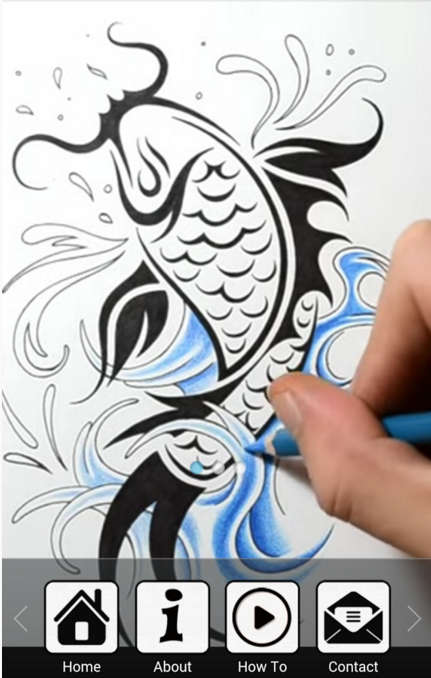 257dfd2e8 Draw Tattoo Designs for Android app free download | Android Apps ...