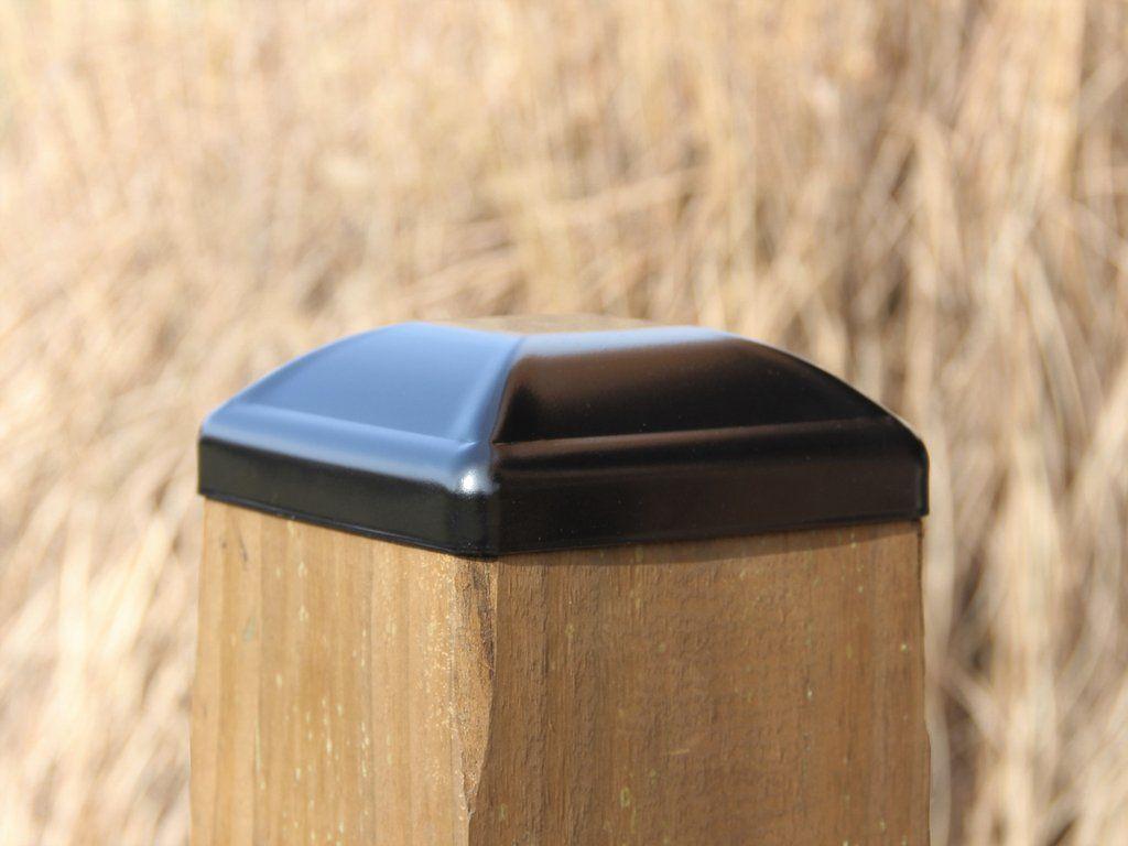 Heavy Duty Steel Post Cap For 6 X6 Wood Post Fence Post Cap Wood Post Fence Post Caps Metal Art Decor