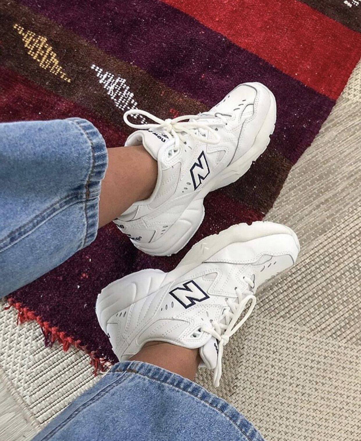 New Balance Dad OG 608 Sneaker in WhiteGrey | Fashion in