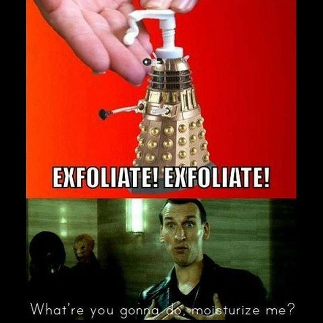I Remember The Ninth Doctor Saying That!
