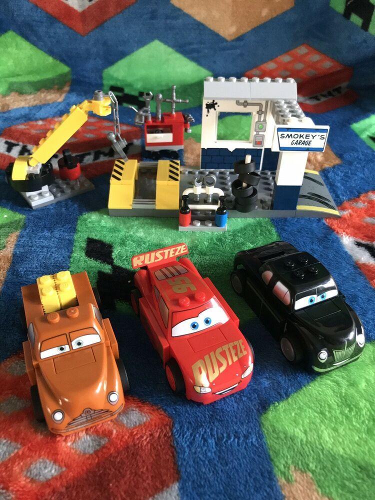 Lego Juniors Easy To Build Cars 3 Smokey S Garage Play Set Open