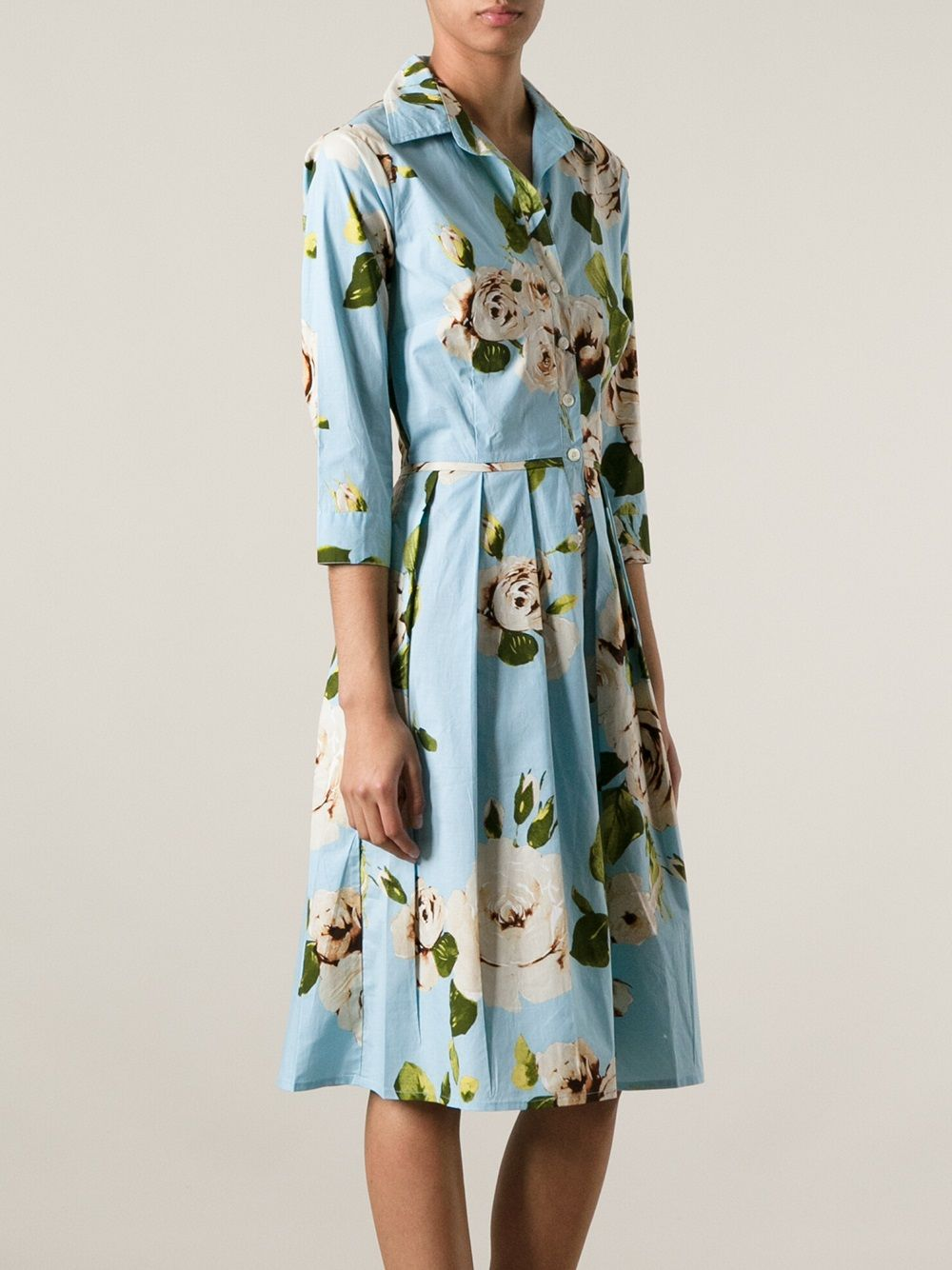 2295cf368873 Samantha Sung 'audrey' Floral Dress - Changing Room - Farfetch.com ...